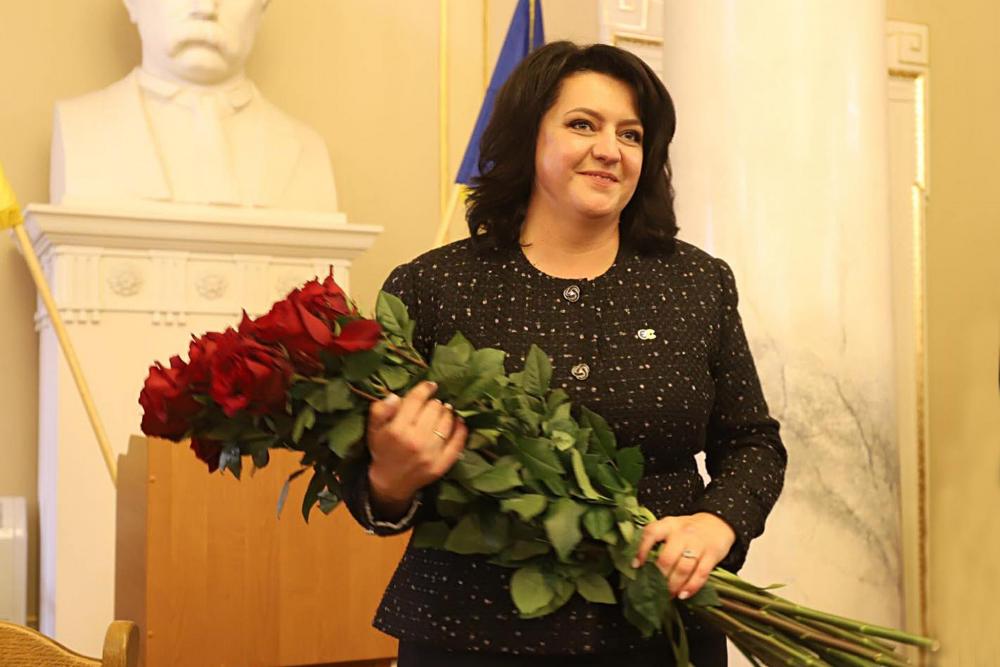 Головою Львівської обласної ради обрано Ірину Гримак