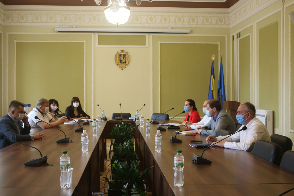 Керівництво Львівської і Тернопільської обласних рад обмінялося досвідом роботи